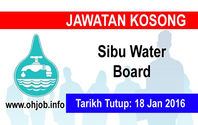 Jawatan Kerja Kosong Sibu Water Board logo www.ohjob.info januari 2016