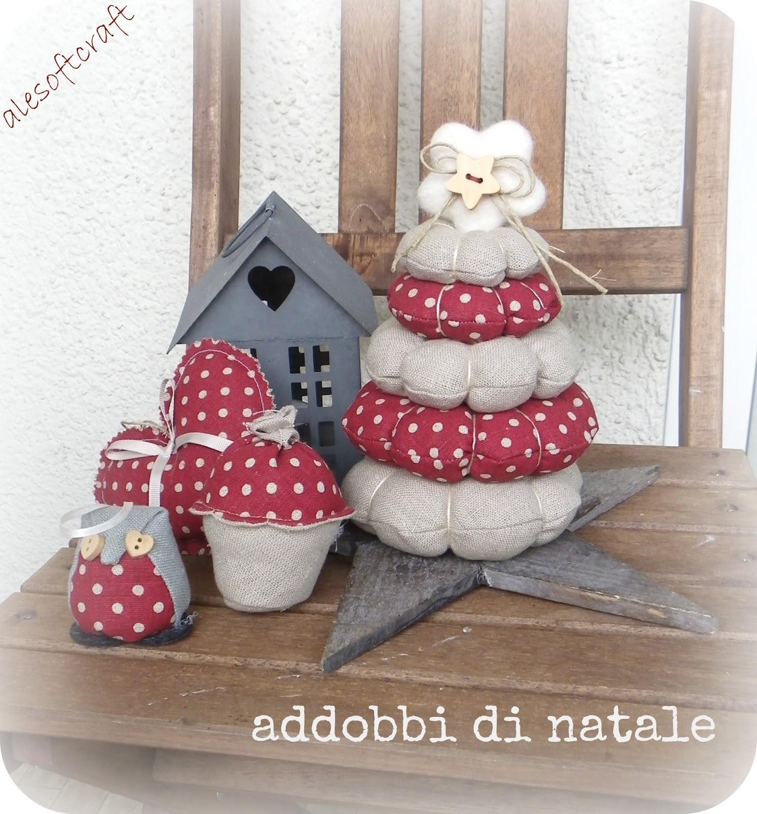 Popolare TESSUTI CREATIVI by Alesoftcraft: addobbi di Natale YQ17