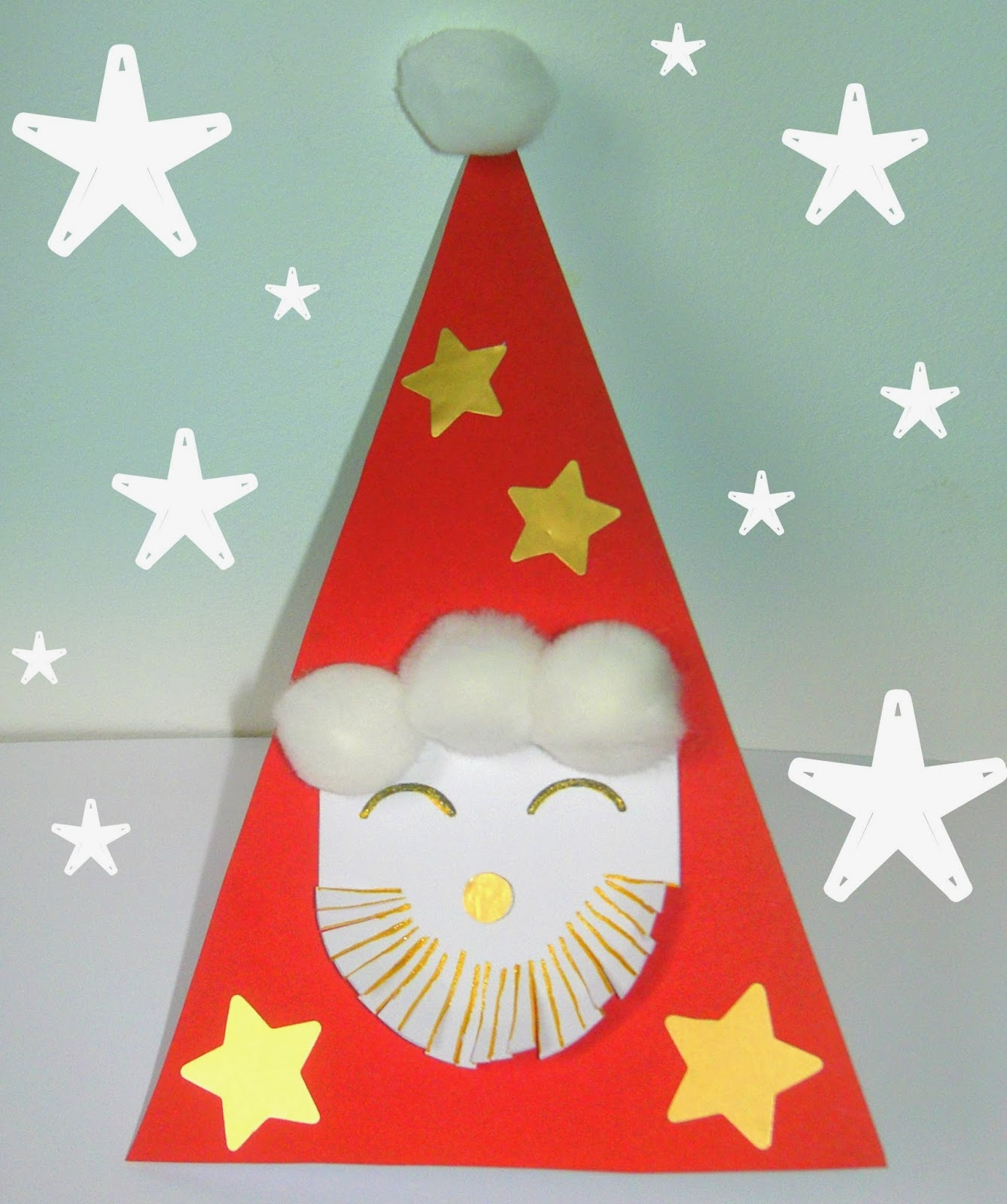 Gabulle in wonderland diy du mercredi carte p re no l - Creation de noel facile ...
