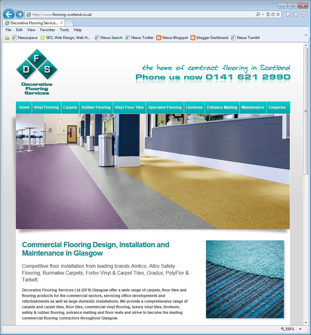 Decorative Flooring Services Nexus Web Design Blog