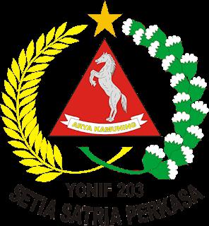 Logo Yonif 203 Arya Kemuning