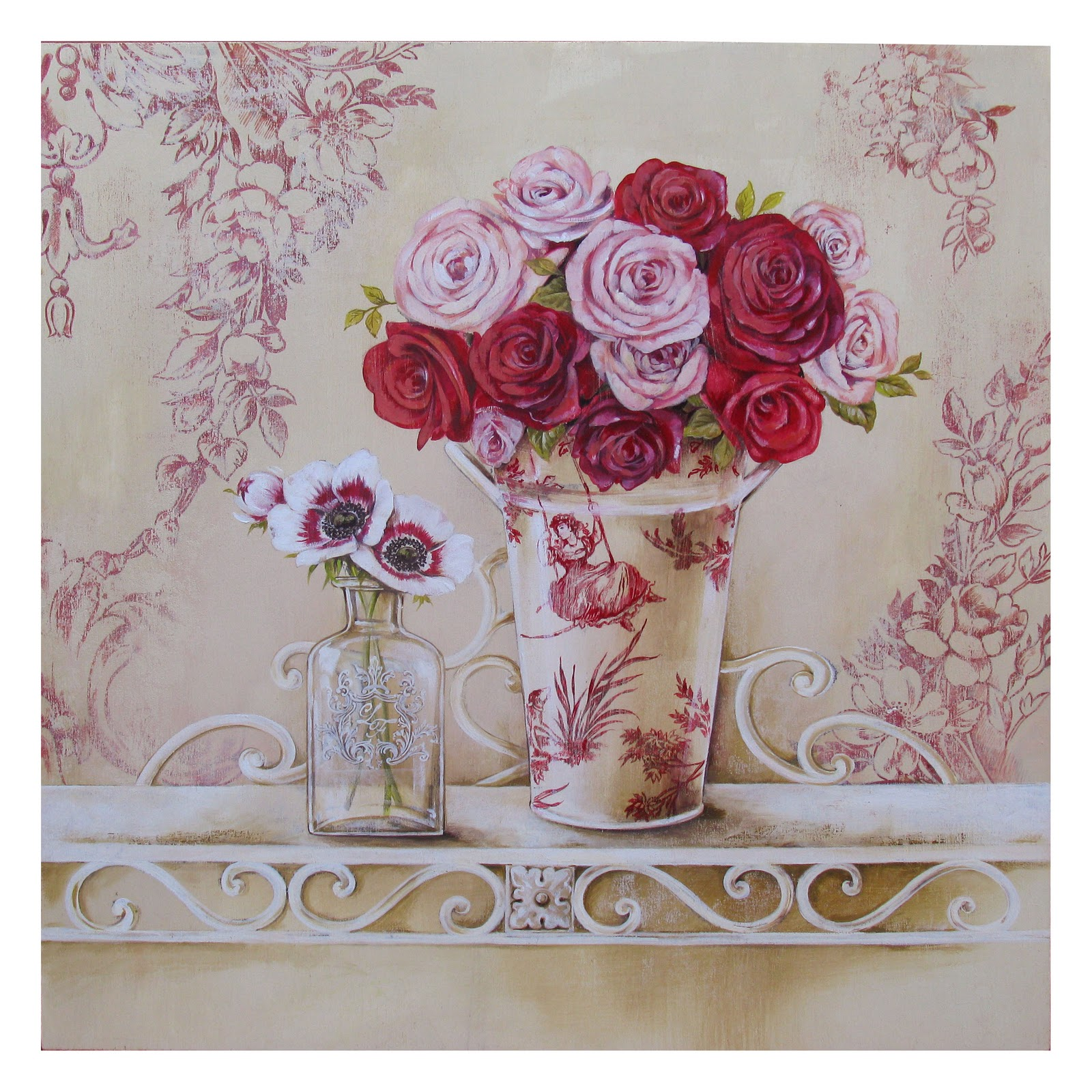 Картинки для декупажа цветы прованс 8