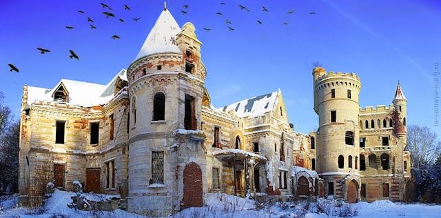 Castillos abandonados, Finca rural en Muromtsevo, Rusia