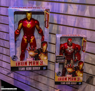 Hasbro 2013 Toy Fair Display Pictures - Iron Man 3 - Titan Hero Series