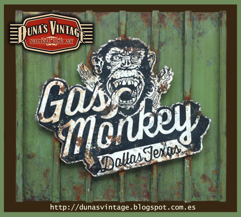 Duna S Vintage Gas Monkey Duna S Vintage