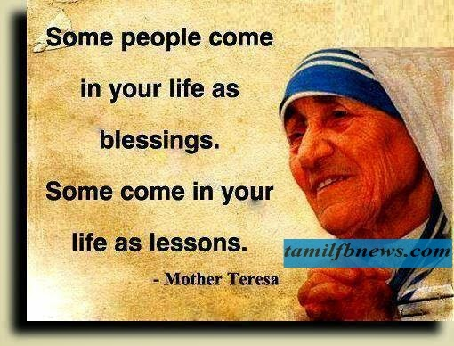 Mother Teresa Quote About Life - English Wallpapers