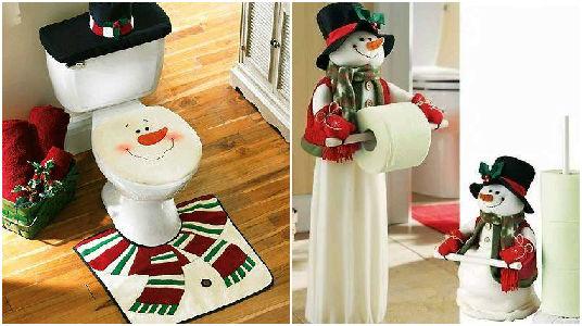 Ideas para decorar el ba o en navidad - Ideas para decorar en navidad ...