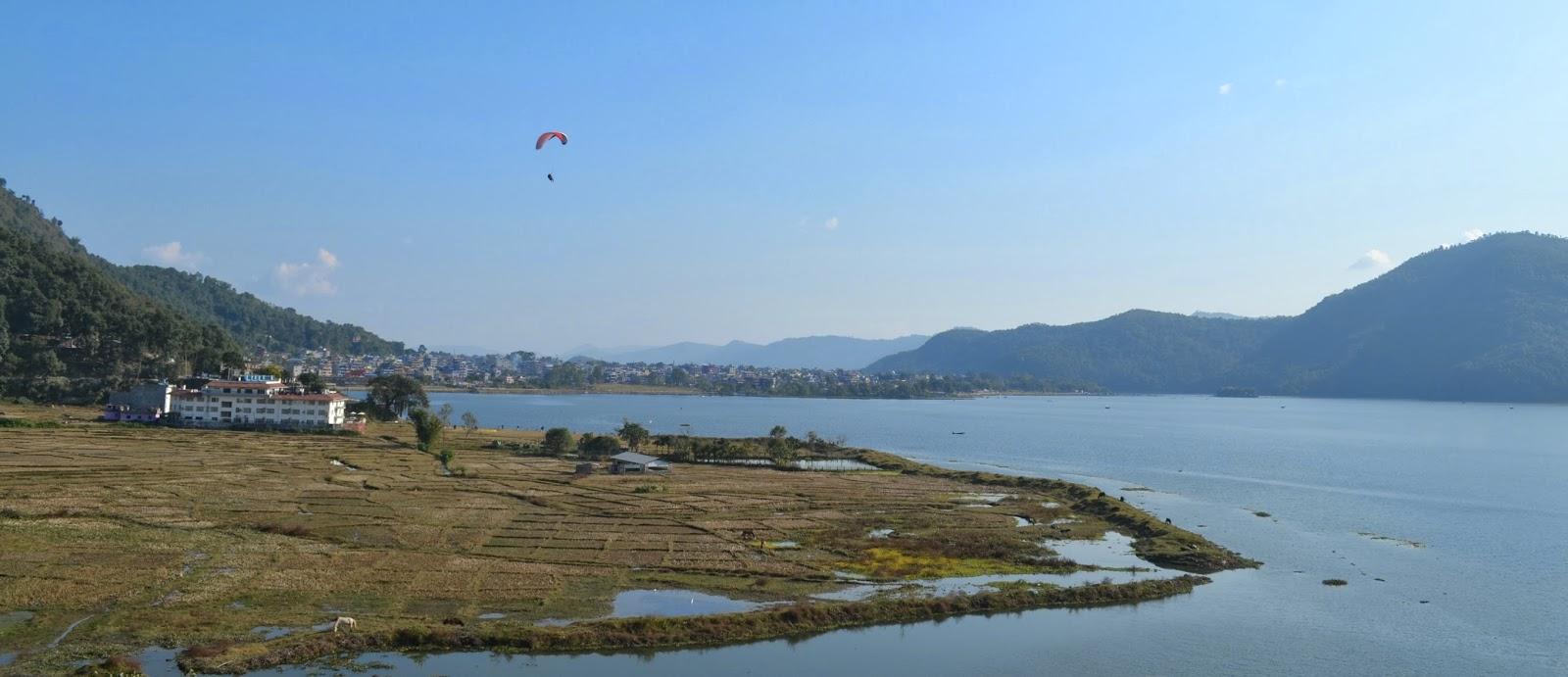 fewa lake pokhara nepal