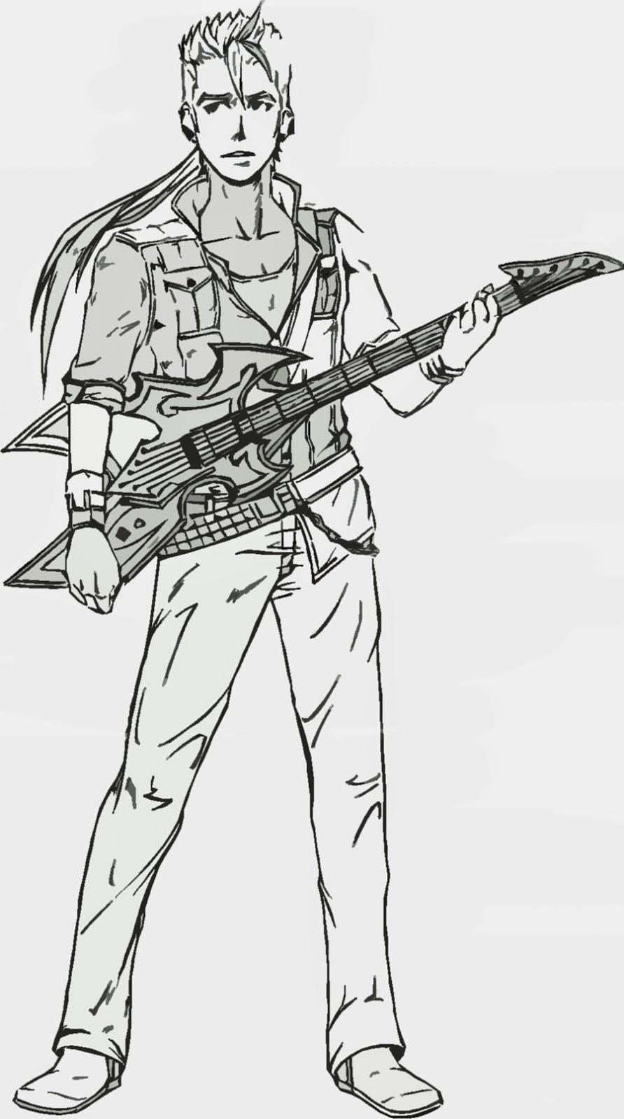 guitarra desenhos para colorir colorir desenhos para colorir