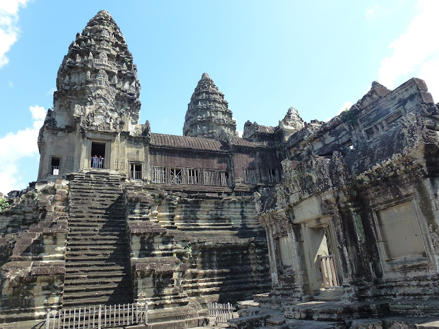 Angkor Wat in Siem reap is a Buddhist temple