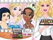 Barbie Royal Makeup Studio
