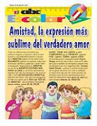Publicaciones en la Revista Escolar de ABC Color