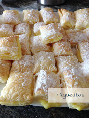 Miguelitos - repostería