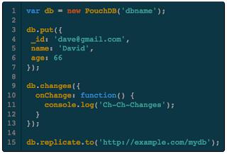 PouchDB Example