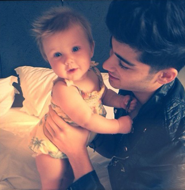 Baby Lux and One Direction