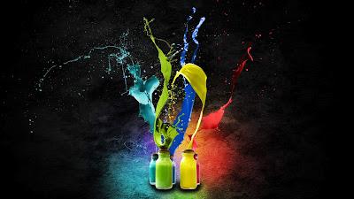 Creative splash of colorswallpapers1920x1080