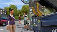 imagem 2, screenshots do jogo The Sims 3 University Life PC