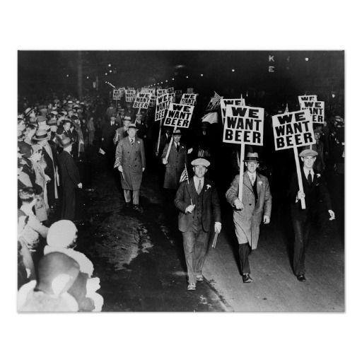 ''We Want Beer!'' - Prohibition Protest, 1931
