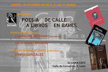 POESÍA DE CALLE A LIBROS EN BARES
