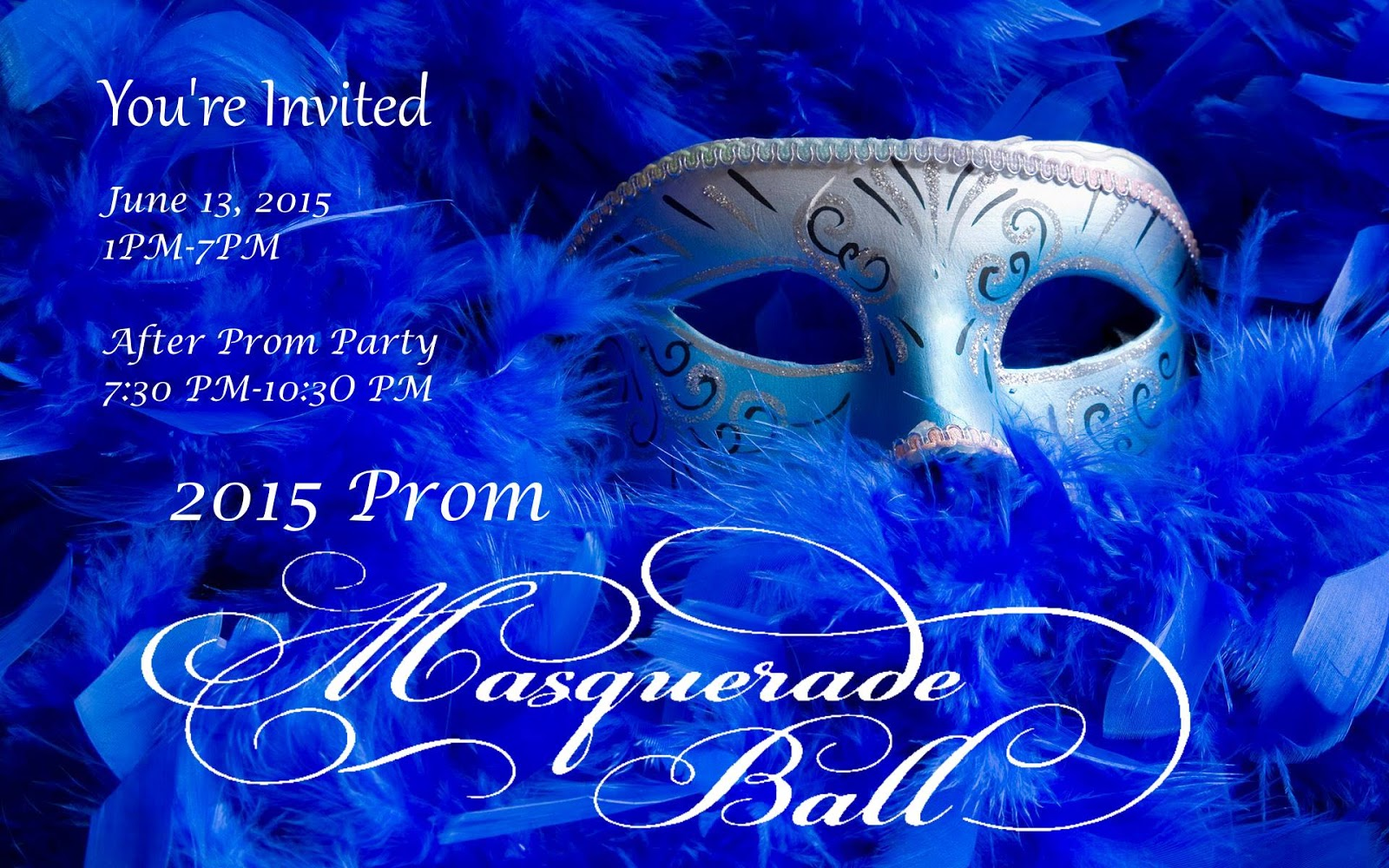 2015 PROM AND MASQUERADE BALL