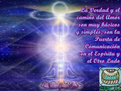 Dentro de cada uno de Uds. está la capacidad de comunicarse directamente con su Yo Interior, su Ser Superior y Guías Espirituales.