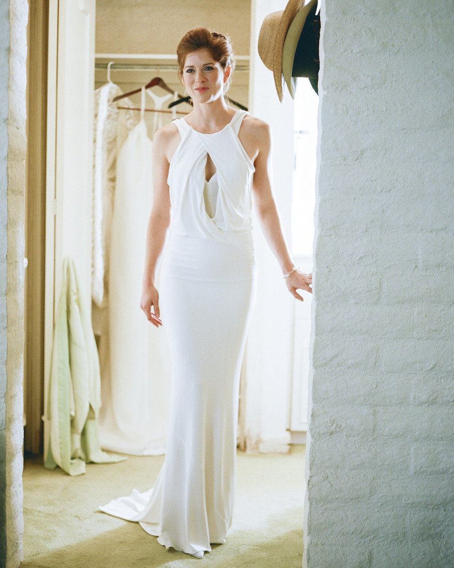 Focus on the back wedding dresses 4 real weddings for Donna karan wedding dresses
