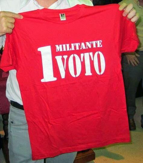 1 MILITANTE 1 VOTO