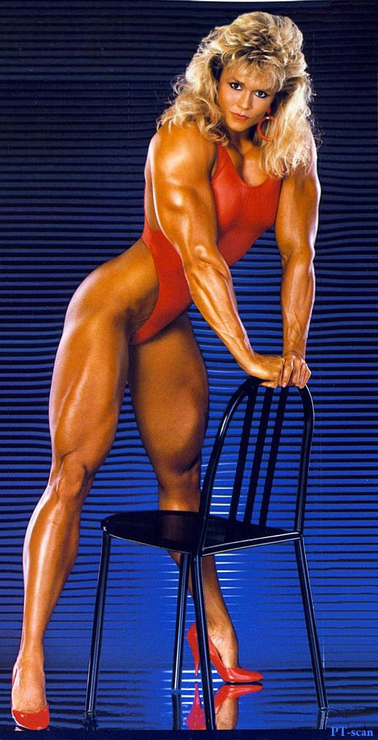 80's Female Muscle: Tonya Knight