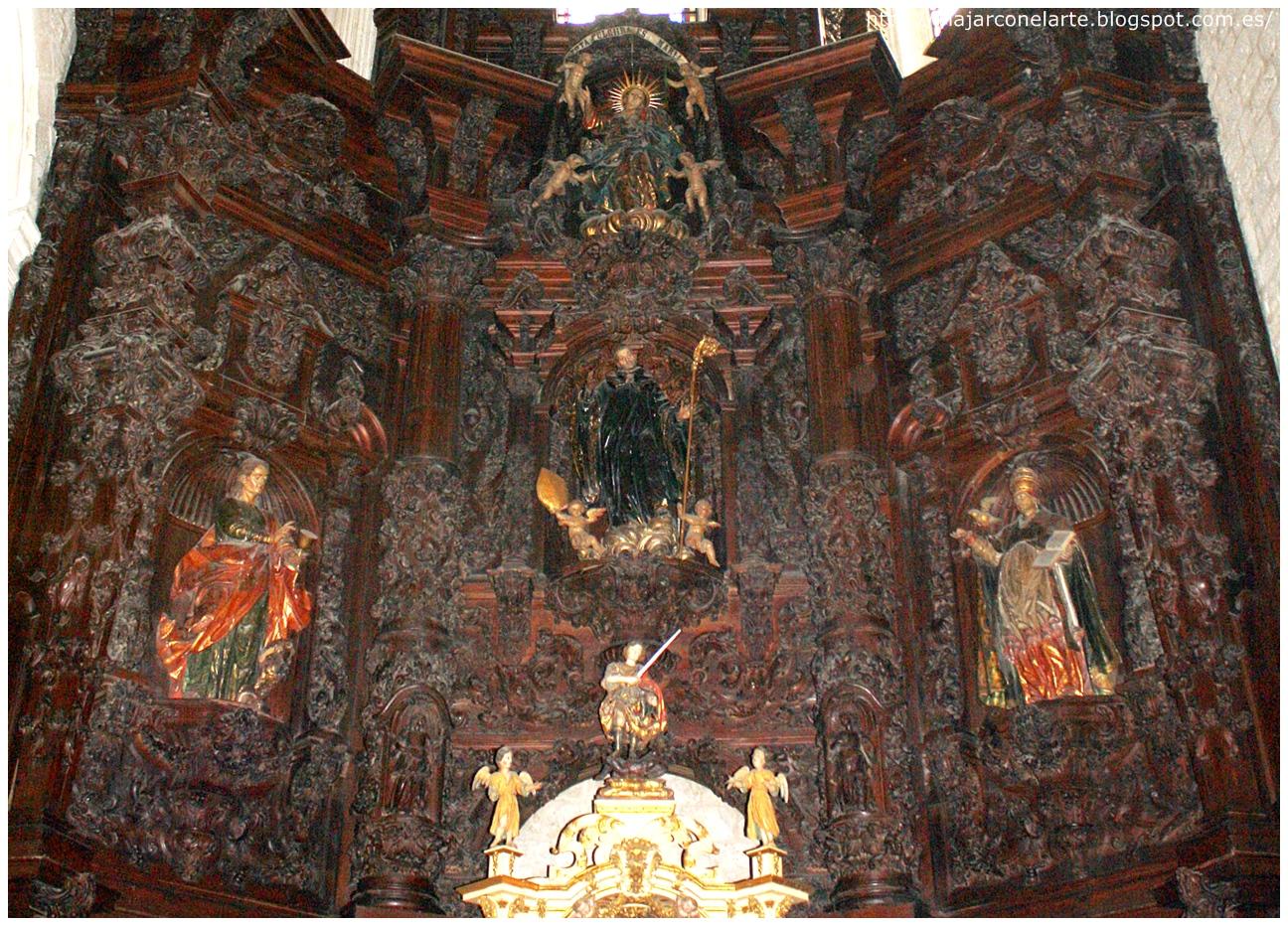 La iglesia de San Lesmes de Burgos y el retablo de la Santa Cruz en Burgos