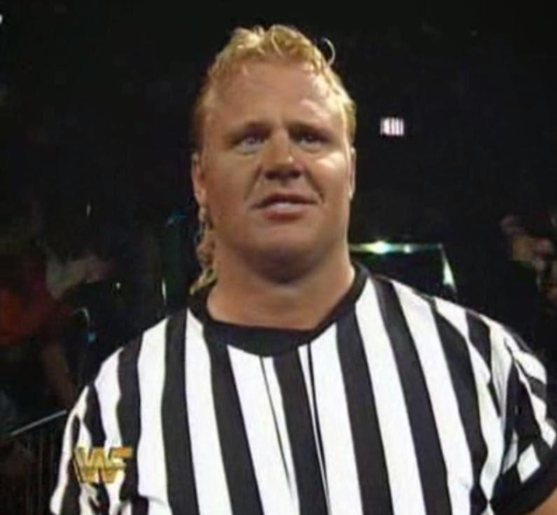 WWF / WWE: Wrestlemania 10 - Mr. Perfect was the special referee for Lex Luger vs. Yokozuna