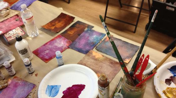 Art blog for the inspiration place flexible summer art for Michaels arts and crafts class schedule