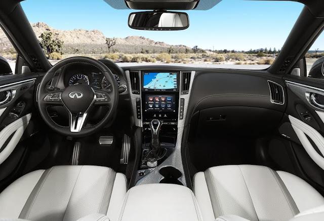 新型 日産スカイライン・クーペ Q60 キャビン