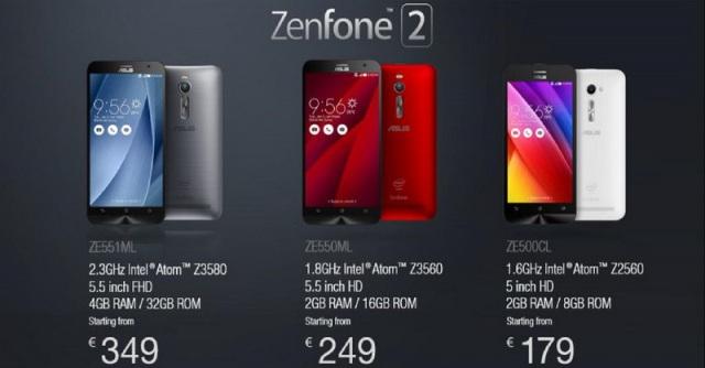 Harga dan Spesifikasi Asus ZenFone 2 RAM 4GB