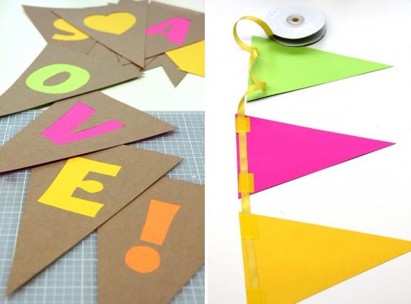 Guirnalda+de+papel+con+tonos+ ...