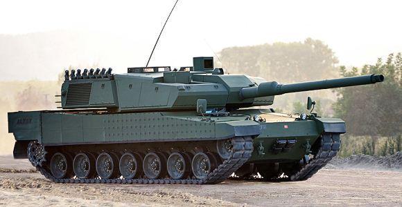 Tank Altay Turki