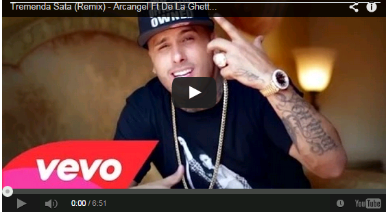 Tremenda Sata (Remix) - Arcangel Ft De La Ghetto, Plan B, Daddy Yankee Y Nicky Jam