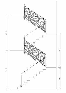 Diseño definitivo de la barandilla de forja