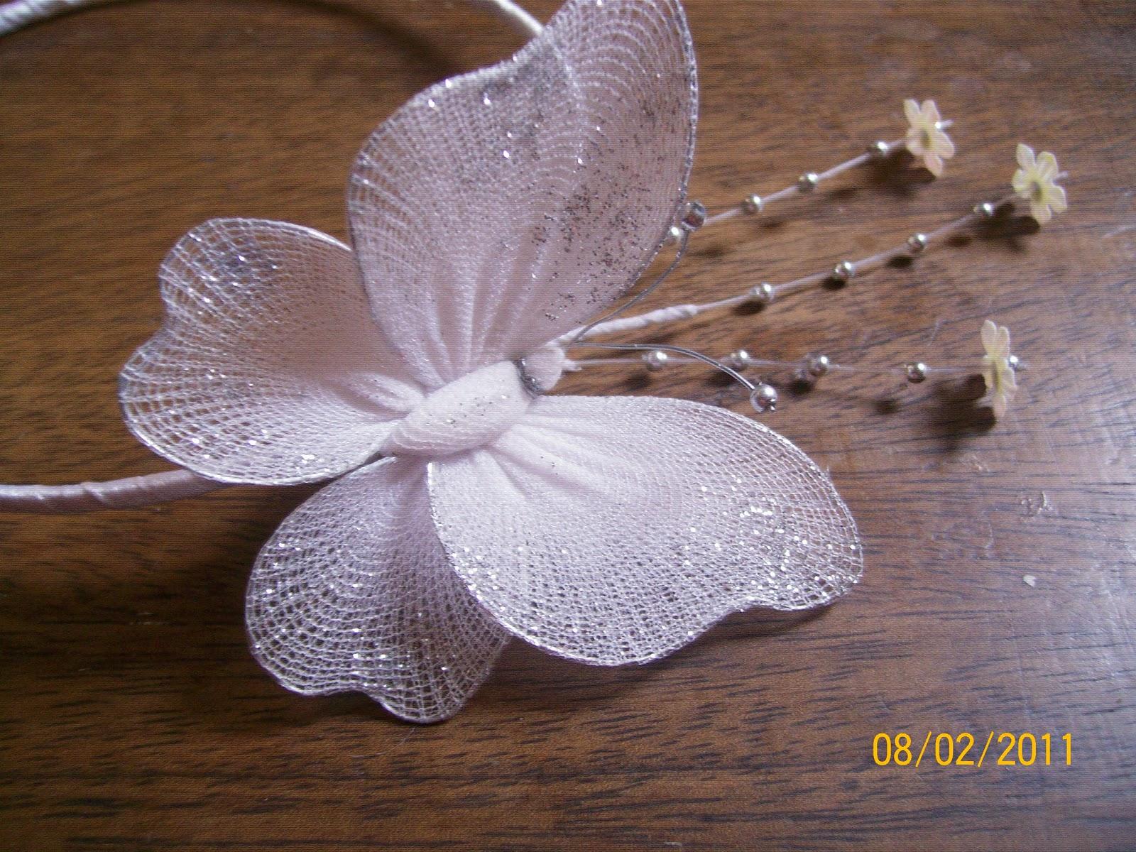 Making Antennae For Nylon Butterfly 24