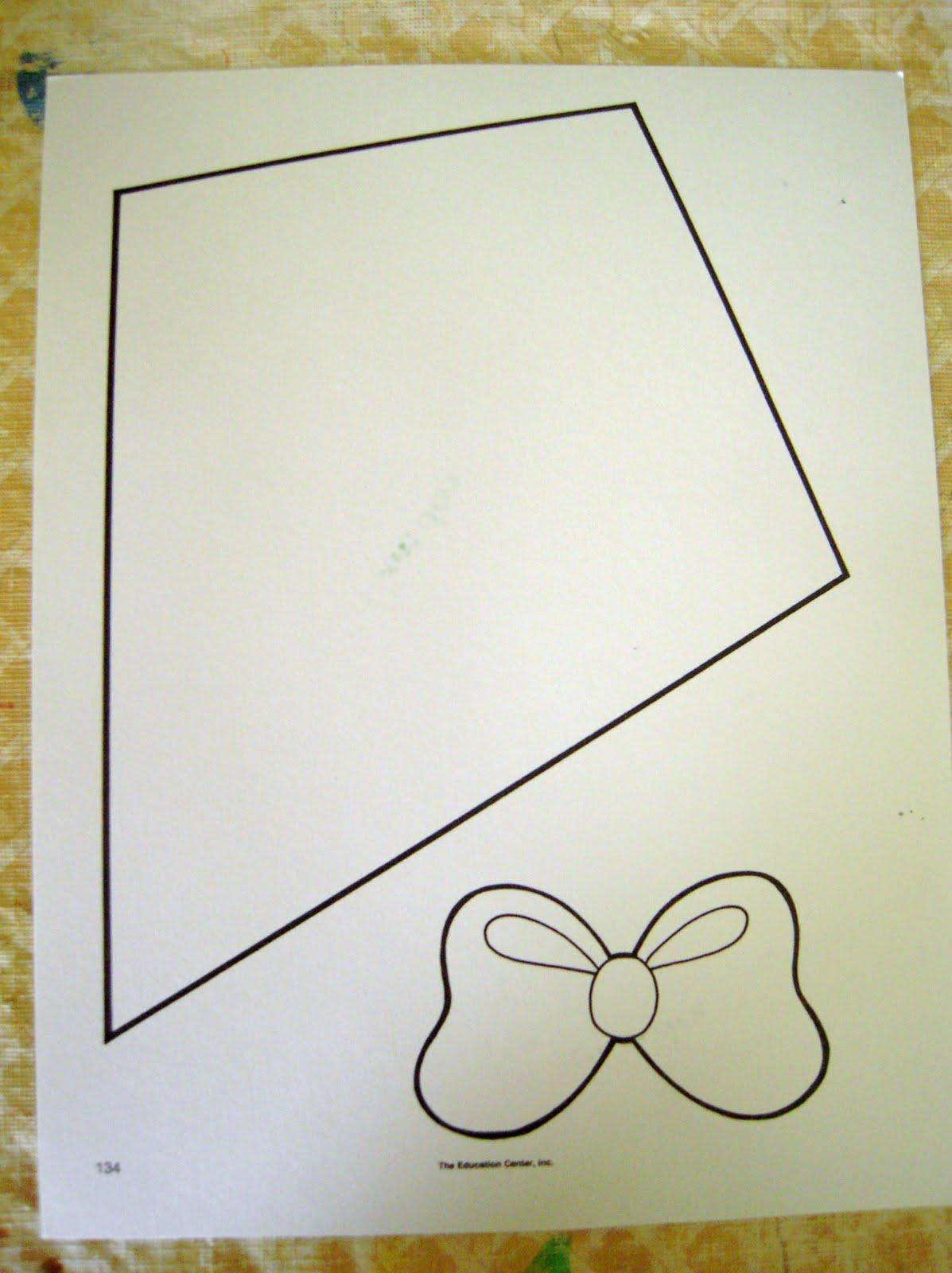 Kite Template For Writing Decorating their kites.
