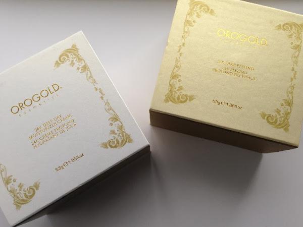 Orogold Cosmetics 24K Gold Deep Peeling & Moisturizer Cream.