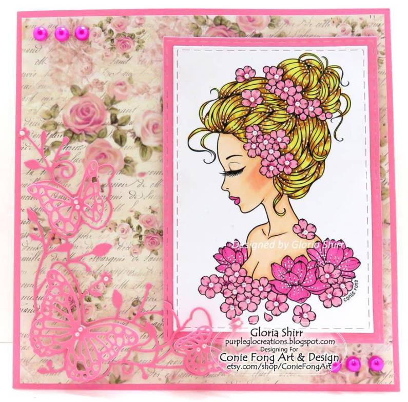 Featured Card at Cardz 4 Galz Challenge