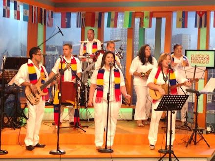 VENEZUELA DANZA Y TAMBOR EN MEGA TV