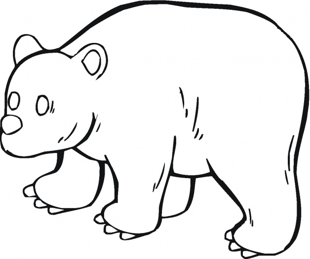 Panda Bear Coloring Pages For Kids