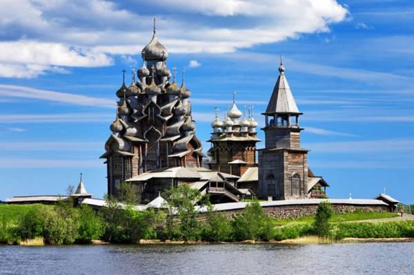 Wooden Churches of Kizhi Island, Russia