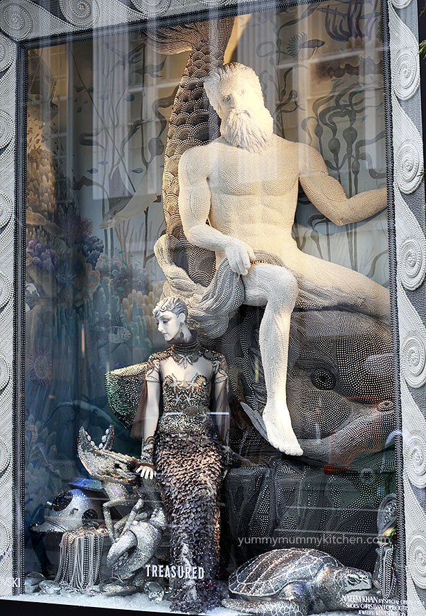 Bergdorf Goodman Christmas Window Display 2015
