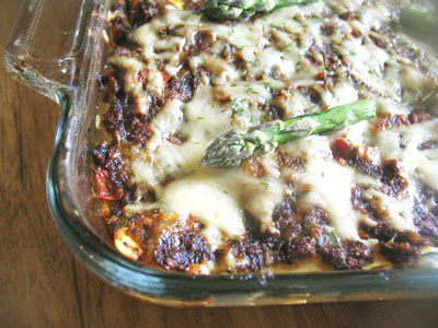 asparagus lasagna