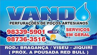 VANDO PERFURAÇÕES