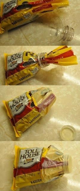 Como selar embalagens em casa - Truque