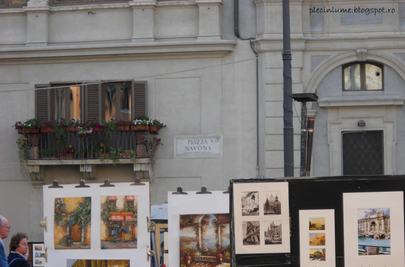 Artisti in Piazza Navona