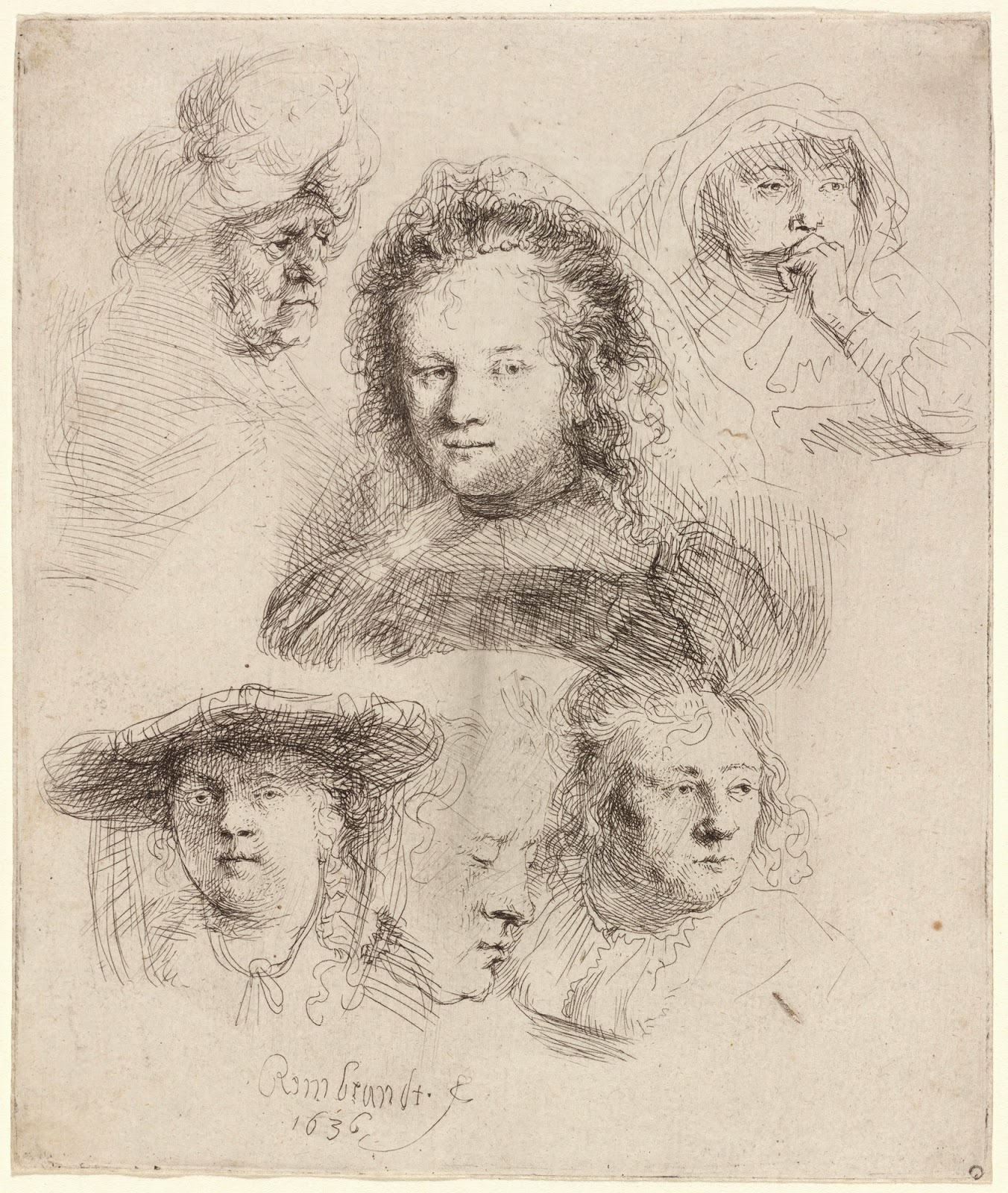 art eyewitness art eyewitness essay old master insights rubens rembrandt van rijn studies of the head of saskia and others 1636